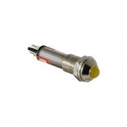 Сигнальная арматура AD22B-8 220V AC желтая