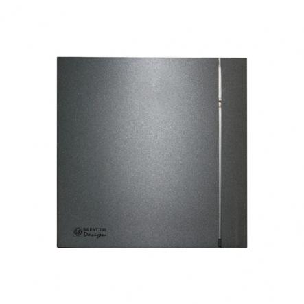 Вентилятор Soler&Palau SILENT-200 CZ GREY DESIGN-4C - 1