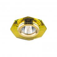 Светильник точечный MR-16 G5.3 50W желтый/золото