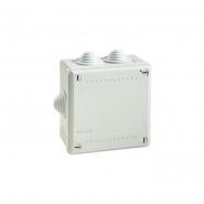 Коробка распределительная 100х100х50 6 вывод. IP 56