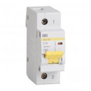 Автоматический выключатель IEK ВА47-100 1p 10A С