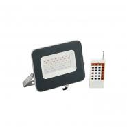 Прожектор СДО 07-30RGB multicolor IP65 серый IEK