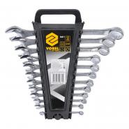 Набор ключей для гаек рожк накидной.12штМ6-22 мм