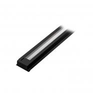 Шинопровод однофазный для трековых светильников,  черный 1м  CAB1000