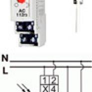 Автомат светочувствительный Электросвит AZ-B UNI plus (12-264В) 16 А с зондом ГЗ IP65(в корп)  АС-112гз+