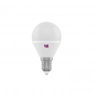 Лампа LED сфера  5W PA10 E14 4000 D45 ELM