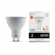 Лампа Gauss LED Elementary MR16 GU10 9W 640lm 3000К