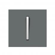 Клавиша 1-я Neo графит/бел.лед
