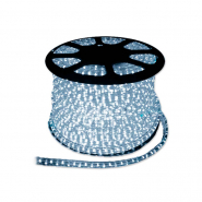 Дюралайт светодиод. 3-пол. белый  (72 led/m) квадрат. 11.5x17.5