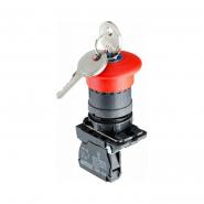 Кнопка безпеки.Повернення ключом TB5-AS142 АСКО-УКРЕМ
