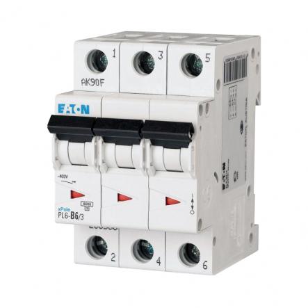 Автоматический выключатель PL6- В6/3 EATON - 1