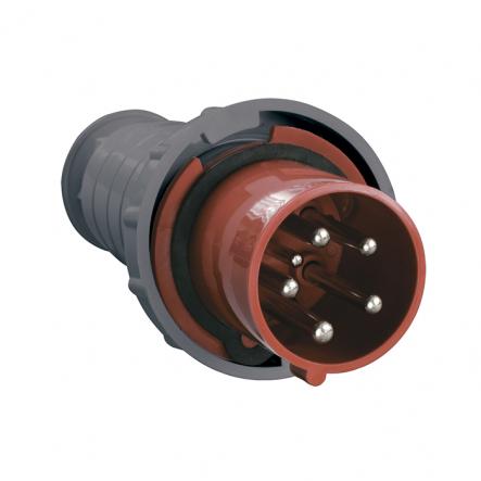 Вилка 035 3P+PE+N 63А 380В IP54 ИЕК - 1