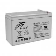 Аккумуляторная батарея AGM RITAR RT1270.Gray Case.12V 7.0Ah (151x65x94(101))) Q10