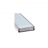 Профиль накладной широкий серебро Feron