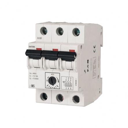 Автоматический выключатель защиты двигателя Z-MS 10/3 (6,3 - 10 А) 3пол. EATON - 1