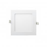 Светильник LED встраиваемый квадратный 9Вт 6400К, Lezard