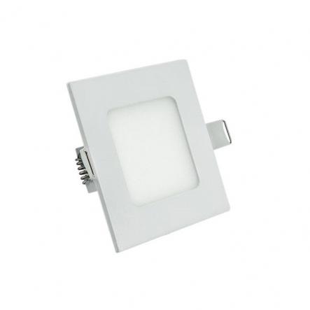 Светильник LED квадратный встраиваемый 6Вт 4200К, Lezard - 1