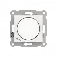 Светорегулятор индуктивный поворотно-нажимной белый Schneider Electric, Sedna