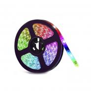 Светодиодная лента # 14-RGB 60RGB5050-220V-8.8W/m IP65 10mm №1