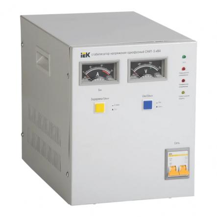 Стабилизатор напряжения СНИ1- 5 кВА - 1