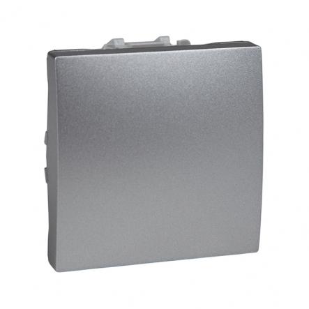 Выключатель одноклавишный алюминий Unika - 1