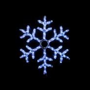 Гирлянда внеш_DELUX_MOTIF_Snowflake 55см 12 flash белый EN_IP44