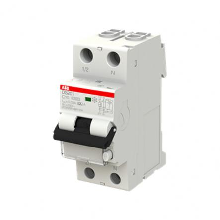 Диф. авт. выкл. DS201 A-C10/0,03 ABB 2CRS255140R1104 - 1