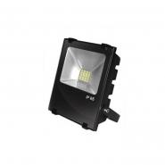 Прожектор EUROELECTRIC LED SMD чорний з радіатором 30W 6500K (10) снято с пр-ва