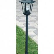 Столб ROM чорний 115см Е27 100W