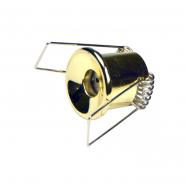 Светильник точечный G4 20W золото