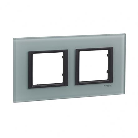 Рамка Unica Class 2-я мат стекло - 1