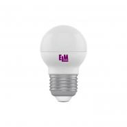 Лампа LED сфера 5W PA10L E27 4000K D45 ELM