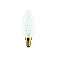 Лампа PHILIPS В-35  свеча E14  60W прозрачная