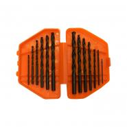 Набор сверл по металлу,1,5- 6,5 мм, (через 0,5 мм)  13шт.пласт. бокс цилиндрический хвостовик SPARTA