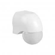 Датчик движения IEK ДД 010 белый 1100 Вт радиус 180град.,10м IP44 арт. LDD10-010-1100-001