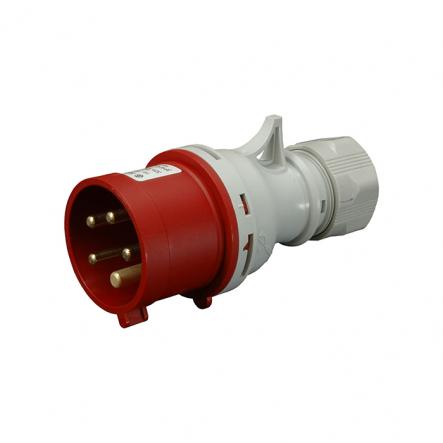 Вилка промышленная IVN (IP 44), 32A, 400V, 5n SEZ - 1