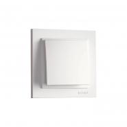 Выключатель 1кл. Mono Electric, DESPINA (белый)