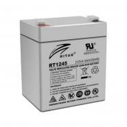 Аккумуляторная батарея AGM RITAR RT1245.Gray Case.12V 4,5Ah (90x70x101(107) Q10