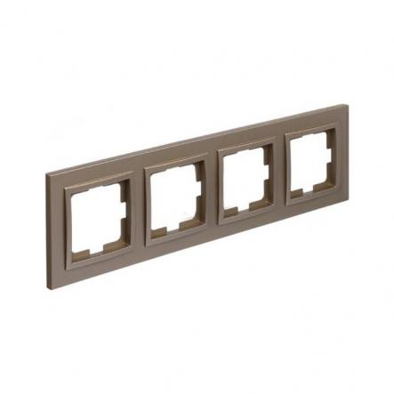 Рамка 4-я , Mono Electric, DESPINA (титан) - 1