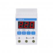 Терморегулятор TESSLA  на DIN-рейку для систем обогрева,охлаждения,вентиляции 32 А, 7кВТ DTPpro