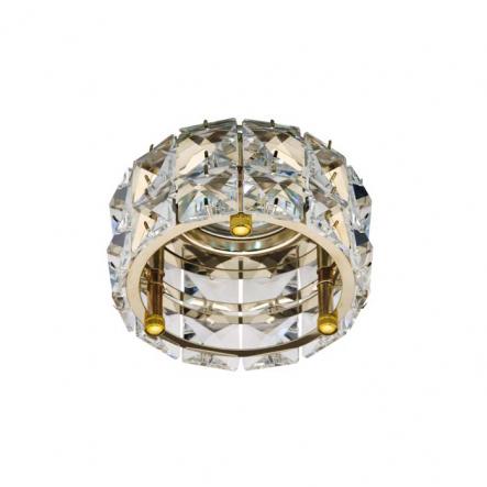 Светильник точечный Feron CD4527 MR16 прозрачный золото MAX50W - 1