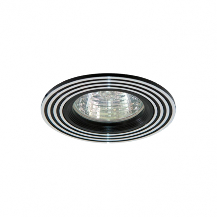 Светильник точечный Feron CD2300 MR16/ G5.3 серебро+золото - 1