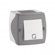 Выключатель 1кл накладной Mono Electric, OCTANS