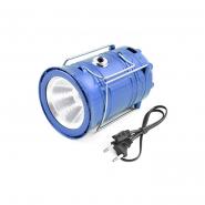Фонарь LUXURY для  кемпинга 5800T 6+1 LED Power bank солнечная батарея
