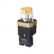 Кнопка желтая с подсветкой XB2-BW3571  АСКО-УКРЕМ