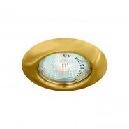 Свет-к точечн. MR-16 G5.3 золото неповоротный