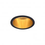 Светильник точечный  Feron DL6003  MR16/G5.3  алюминиевый  черный+золото