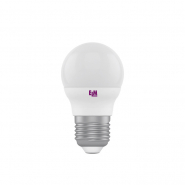Лампа LED сфера 6W PA10 Е27 4000K  D45 ELM