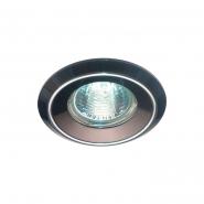 Светильник точечный Feron DL1023  черный алюминий/хром