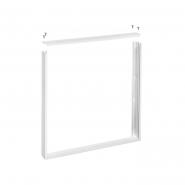 Рамка накладного монтажа для светодиодных панелей Panel 42 белая DELUX